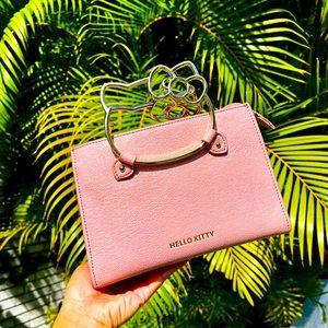 HelloKitty glittery pink purse